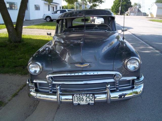 1950 chevrolet styleline deluxe 4 door sedan classic for 1950 chevy 2 door sedan