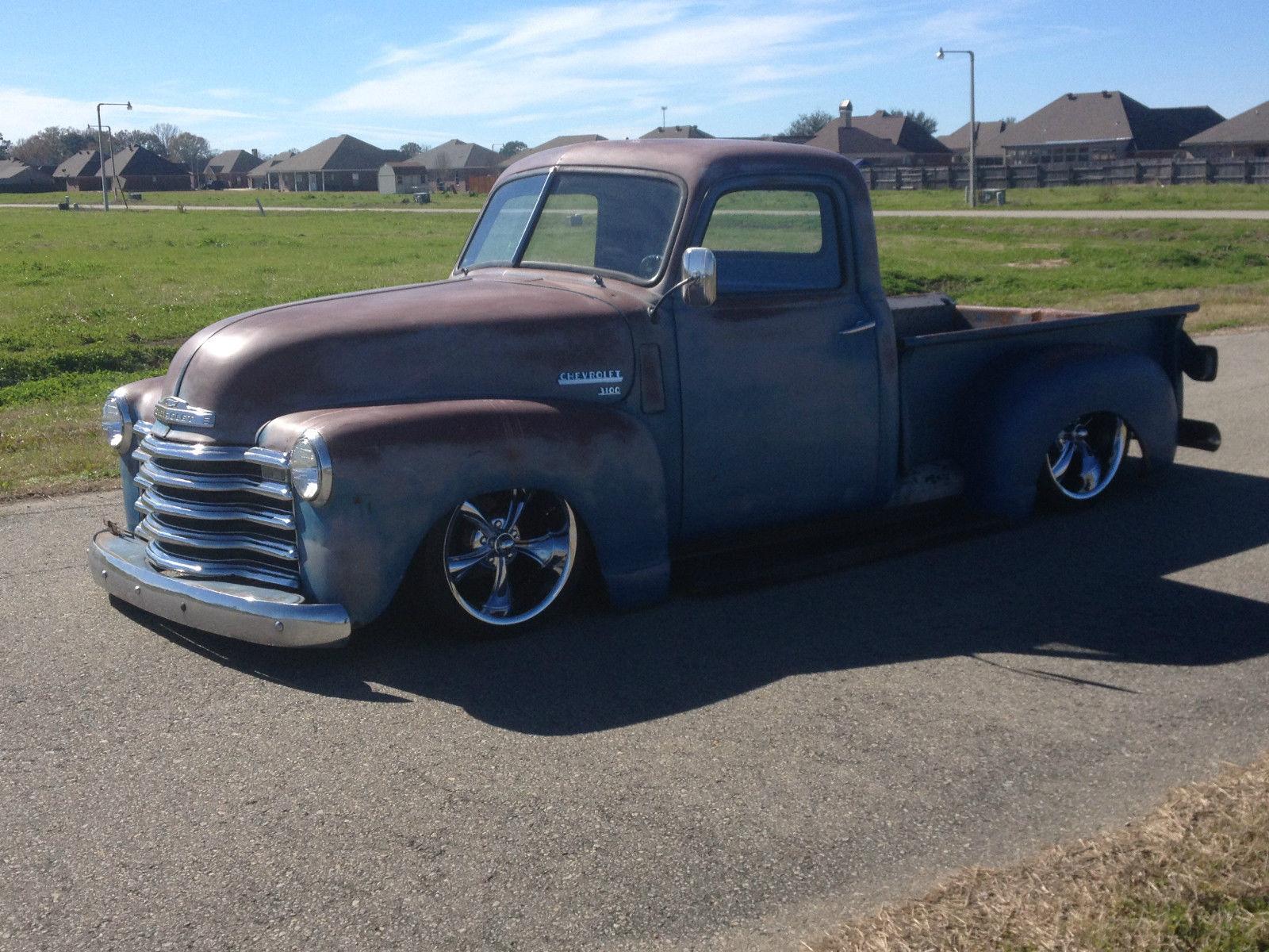1950 Chevrolet Truck 3100 patina air ride custom - Classic ...