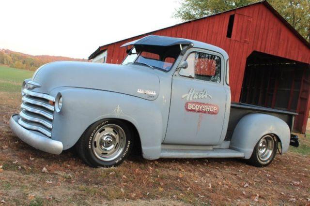 1950 chevy 3100 5 window rat rod pickup restomod vortec for 1950 5 window chevy truck