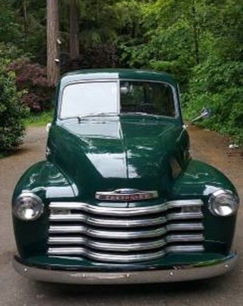 1950 Chevy Pickup 235 Green Original Perfect Condition
