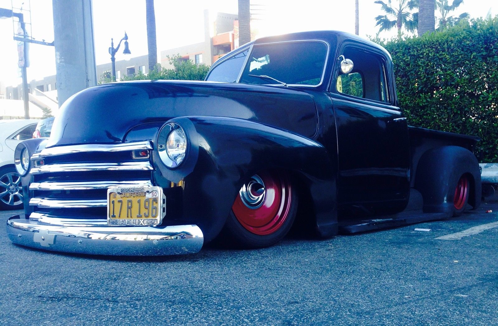 1950 Chevy Pickup Hot Rod Art Morrison Chassis 350 V8 Automatic 1949 Truck Paint Colors Chevrolet Other Pickups