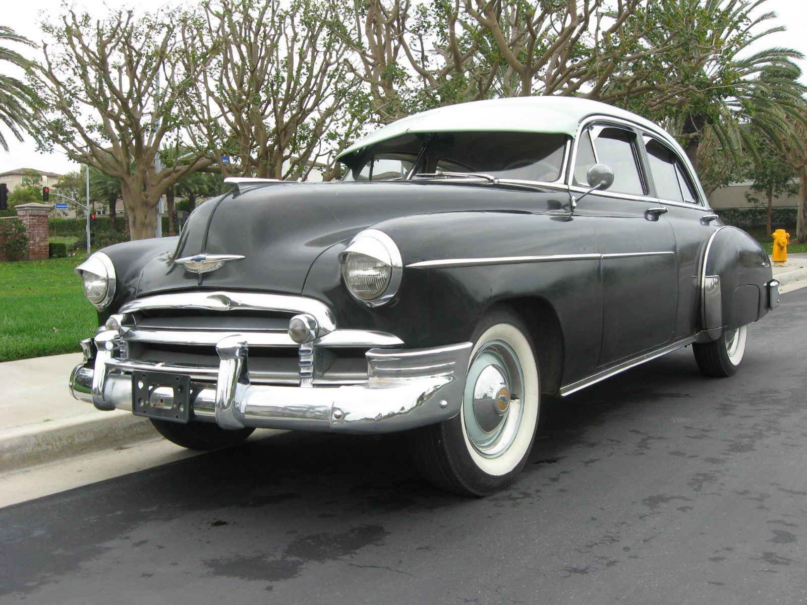 1950 Chevy Styleline Deluxe All Stock And Original