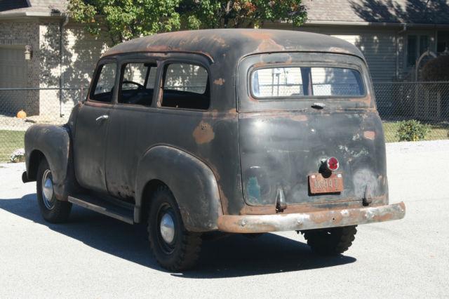 1950 Chevy Suburban Carryall canopy express truck 47-54 hotrod ratrod restomod - Classic