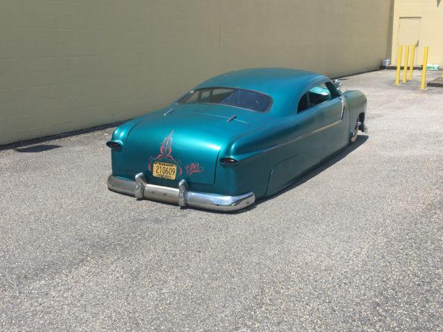 1950 Chopped Ford Shoebox Leadsled Merc Hot Rod Bagged Air