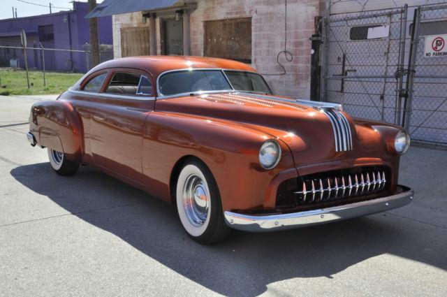1950 Chopped Fully Custom Pontiac Chieftain With 455