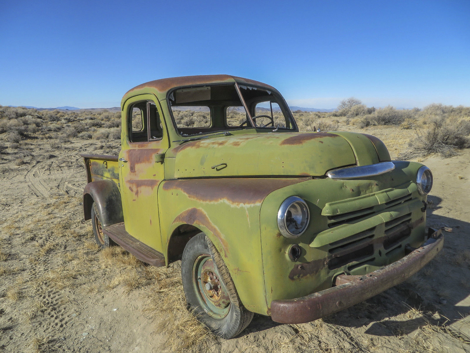 1950 Dodge 5 Window Short Bed Pickup Straight Body Title In Hand 1949 Chevy Other Pickups