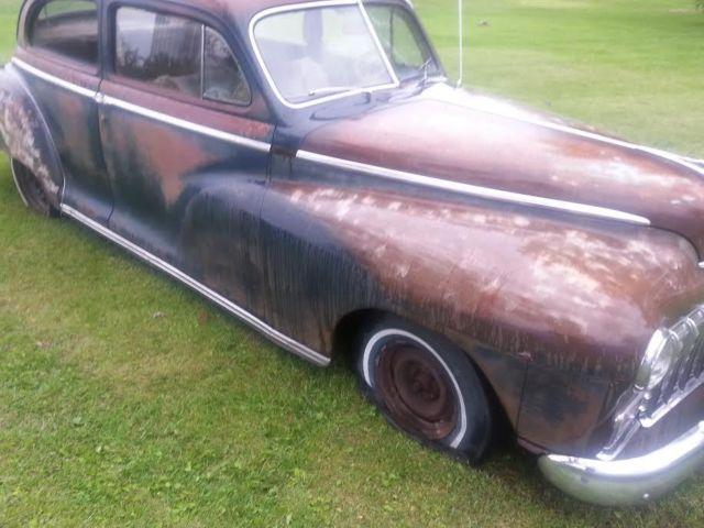 1950 dodge custom 2 door sedan rat rod no reserve fluid for 1950 dodge 2 door coupe