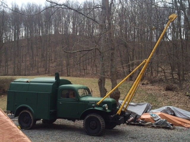 Plow Trucks For Sale >> 1950 Dodge Power Wagon Bell Telephone Truck with Pole ...
