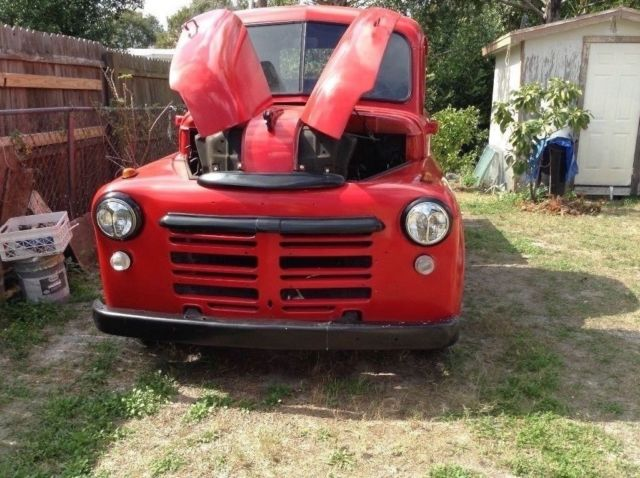 1950 Dodge Truck 230 6 Cyl Fluid Drive 3 Speed Solid Clean