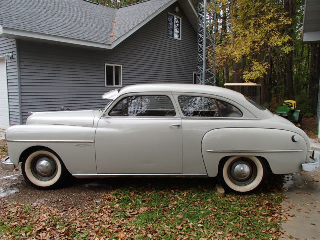 1950 dodge wayfarer 2 door sedan good body project car to
