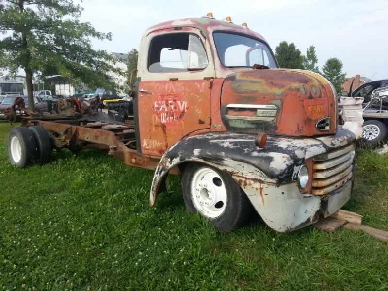 1950 F5 COE Project 454 Auto, PS, PB on 93 C3500 Chassis ...