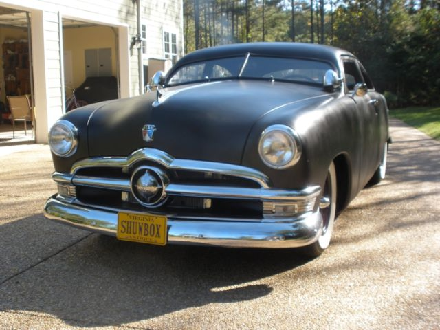 1950 Ford Chopped Shoebox 302 With Overdrive