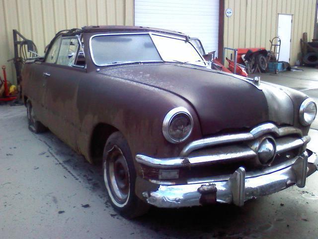 1950 Ford Convertible Rat Rod Custom Hotrod Project
