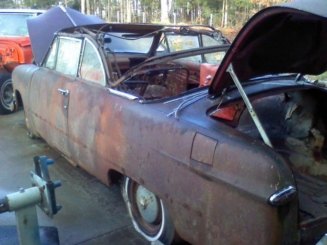 1950 Ford Convertible Rat Rod Custom Hotrod Project