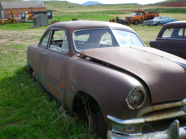 1950 Ford Coupe Project Car Hot Rods Restoration Classic