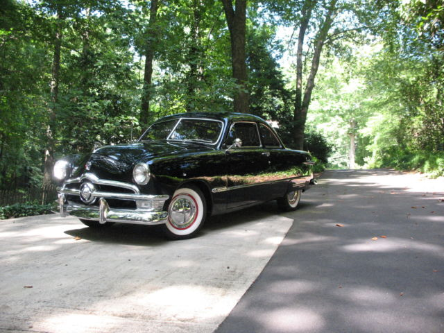 1950 ford coupe street rod with great georgia history classic ford coupe 1950 for sale. Black Bedroom Furniture Sets. Home Design Ideas