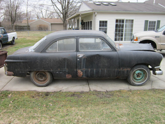 1950 ford custom 2 door sedan shoebox classic ford for 1950 ford custom 2 door