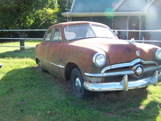 1950 ford custom deluxe 4 door sedan original condition for 1950 ford custom 4 door