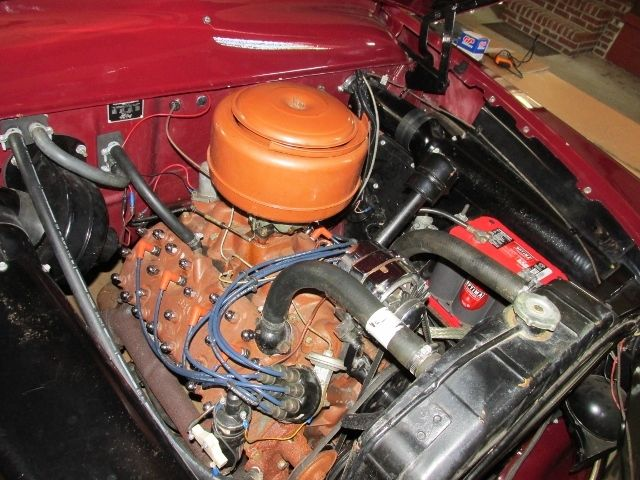 Ford Custom Deluxe Tudor Sedan Flathead V Overdrive