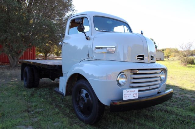 1950 Ford F 5 Flatbed Classic Truck Restored 1 5 Ton