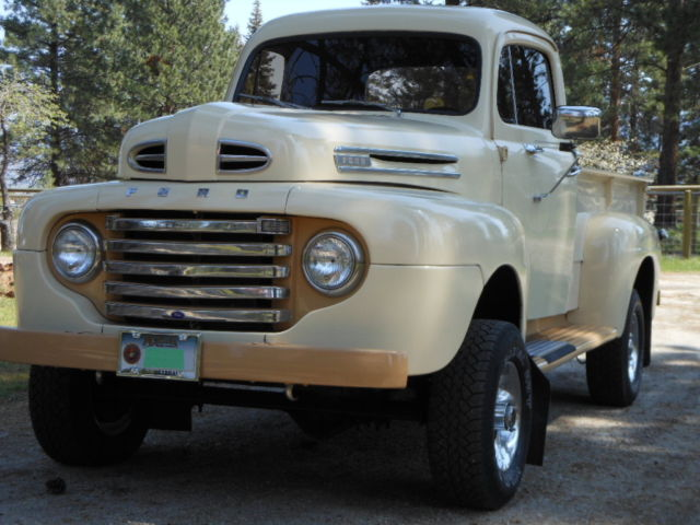 1950 ford f1 4x4 classic ford f 100 1950 for sale. Black Bedroom Furniture Sets. Home Design Ideas