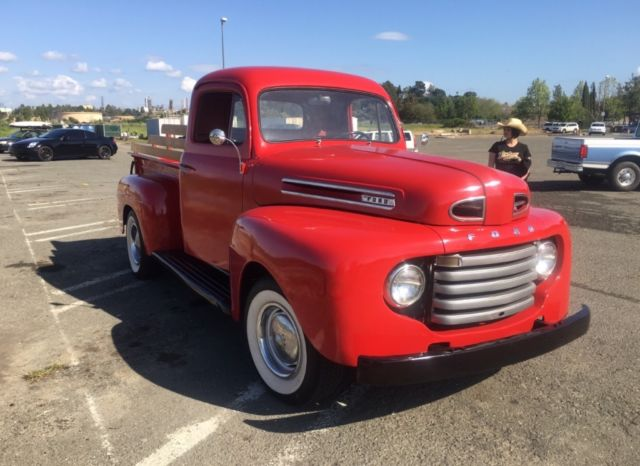 Martinez Used Cars >> 1950 Ford F1 pick up truck - Classic Ford F-100 1950 for sale