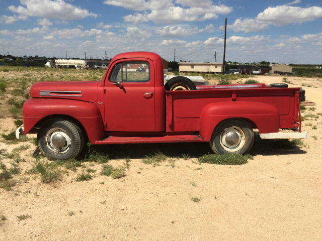 Ford F No Rust F F Classic Truck Chevy Dodge Antique Truck on 1952 Ford F3 Pick Up