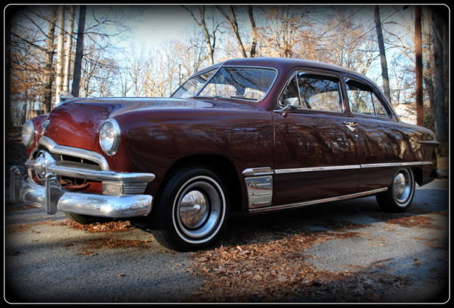 1950 ford shoebox 2 door sedan 1949 1951 coupe for 1950 ford custom 2 door