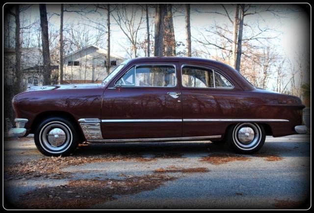 1950 ford shoebox 2 door sedan 1949 1951 coupe for 1950 ford 2 door sedan for sale