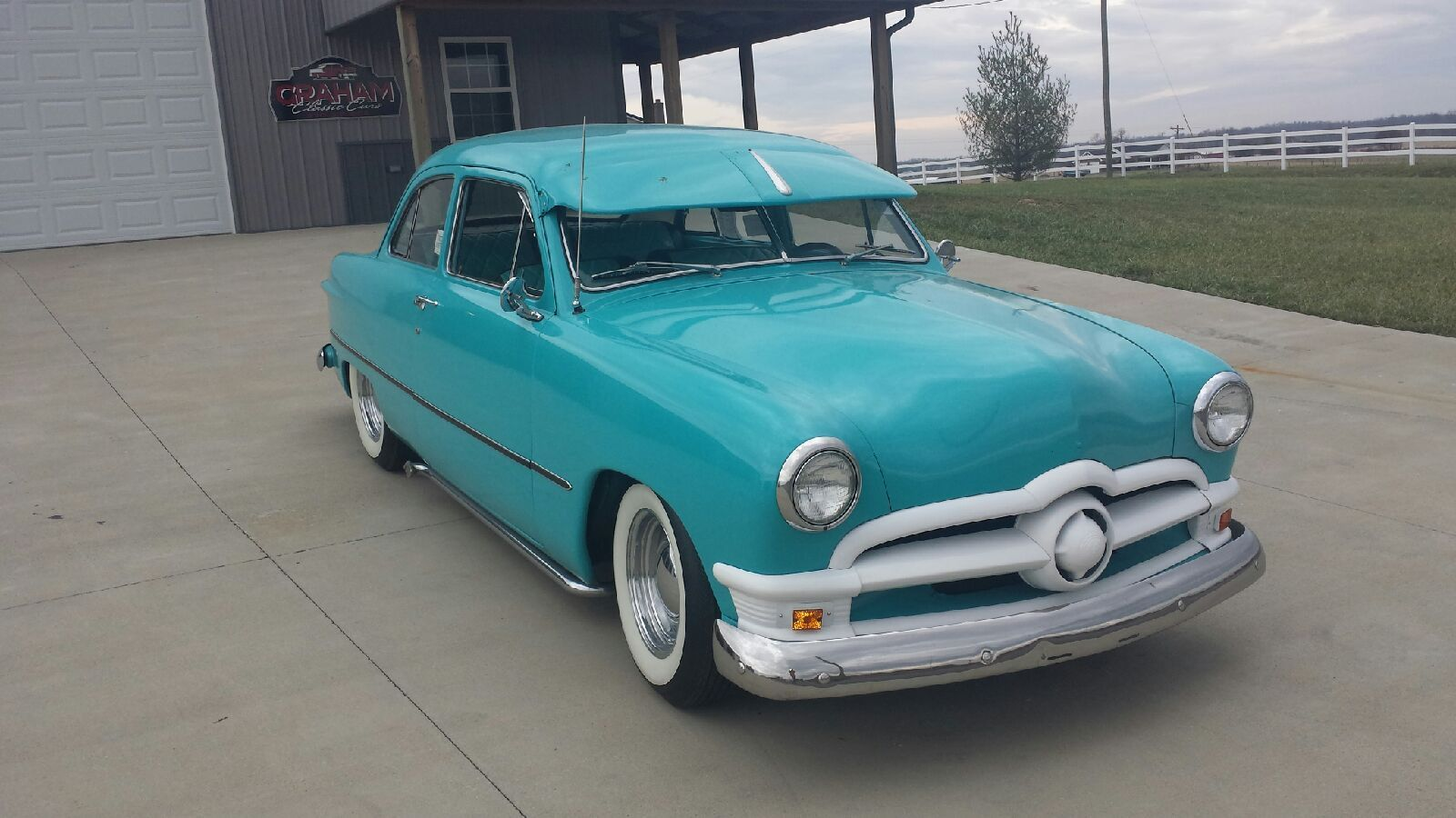 1950 Ford Shoebox Classic Street Rod Cruiser Done Right