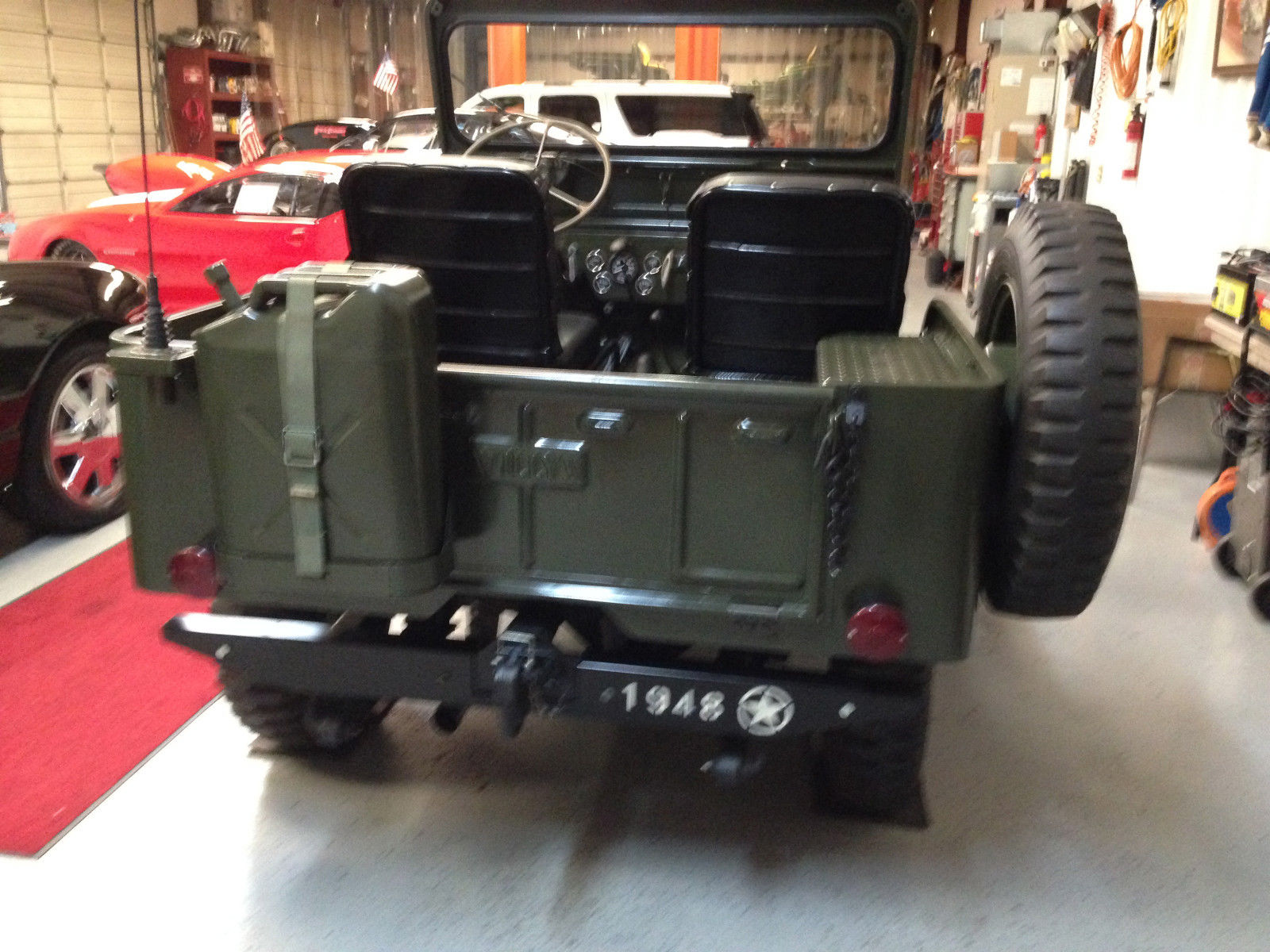 1950 Jeep Willys Cj 3 Complete Frame Off Restoration Done By 3a For Sale Other