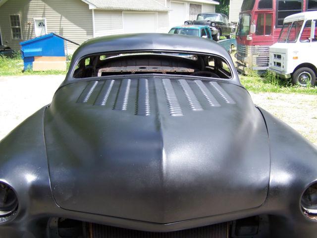 1950 Mercury Coupe Chopped Top Custom Rod Project 32 33