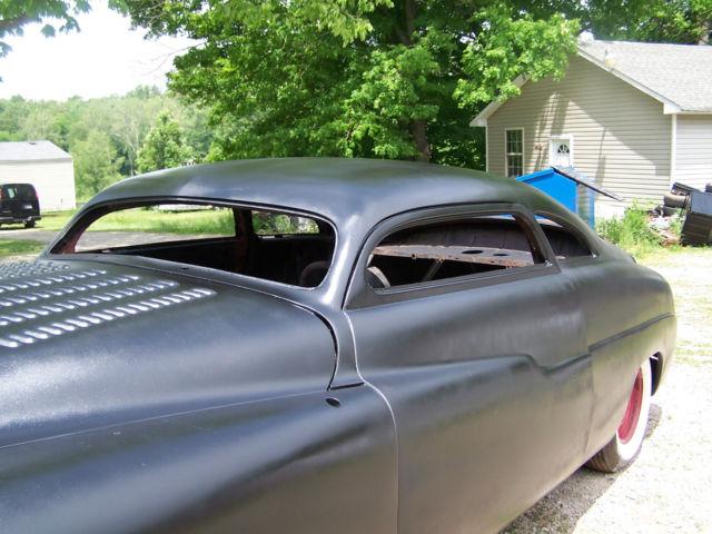 1950 mercury coupe chopped top custom rod project, 32 33 ...
