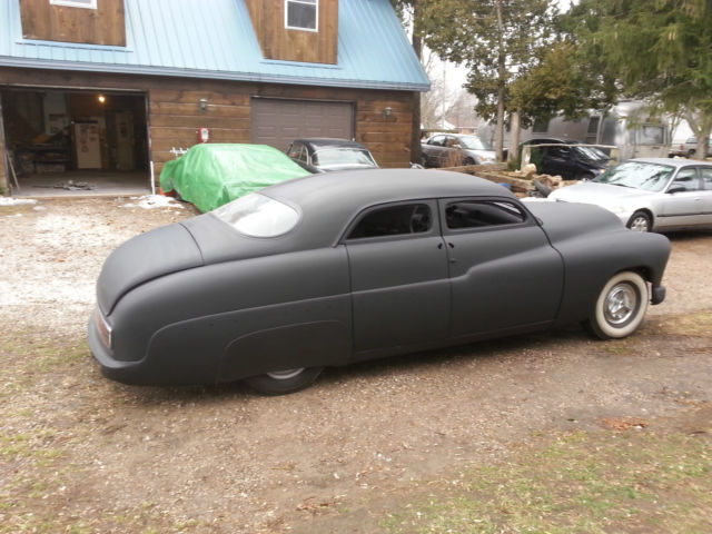 1950 Mercury Lead Sled Chopped Top Classic Mercury