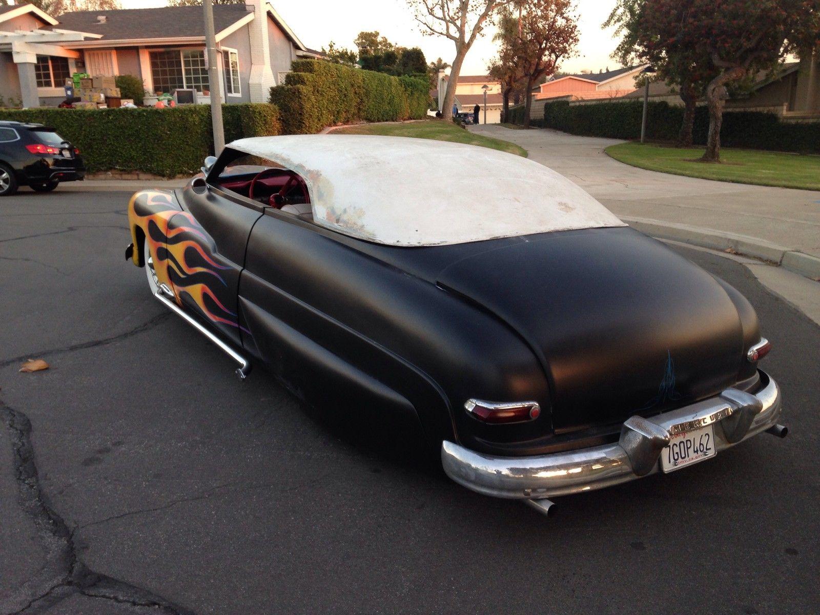 1950 Mercury Lead Sled Hot Rod W L Lift Off Fiberglass