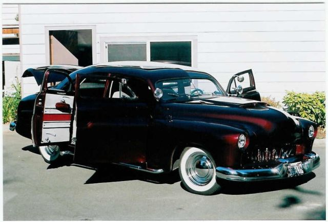 1950 mercury m74 4 door sport sedan classic mercury for 1950 mercury 4 door sedan