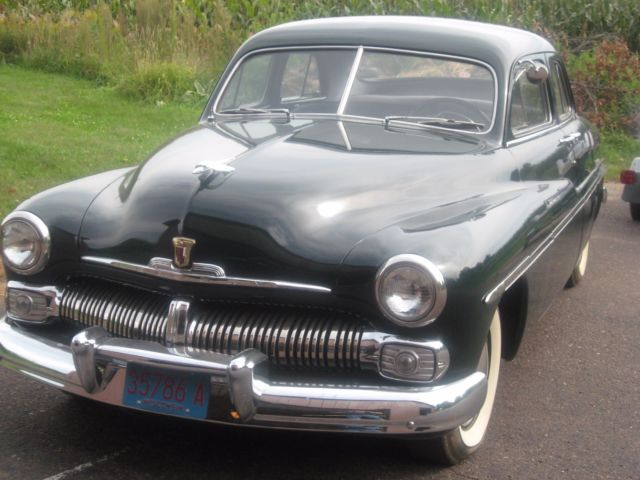 1950 mercury sedan not chopped show car classic for 1950 mercury 4 door sedan