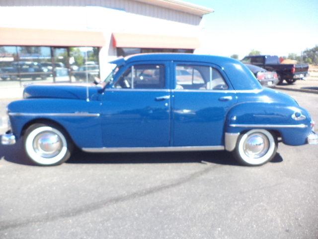 1950 plymouth deluxe blue 4 door sedan classic plymouth for 1950 plymouth 4 door sedan
