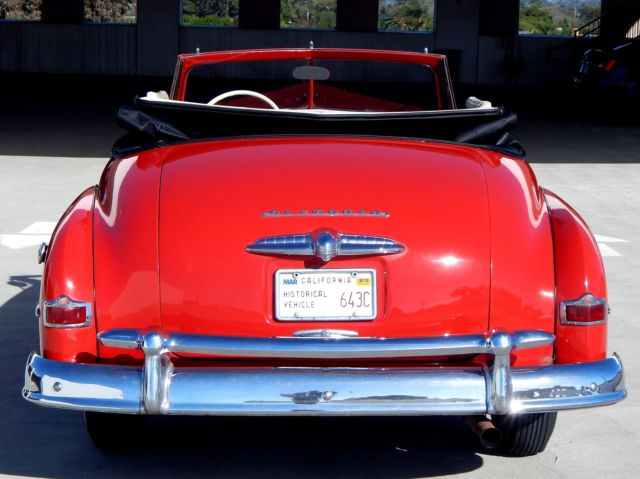 1950 Plymouth P20 Special Deluxe Convertible Roadster