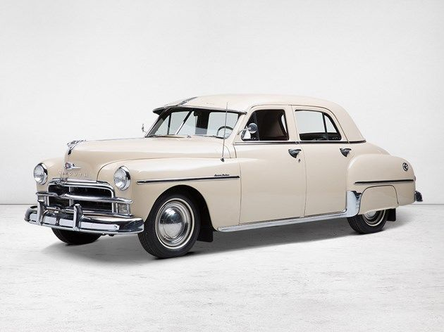 1950 plymouth special deluxe 4 door sedan like new