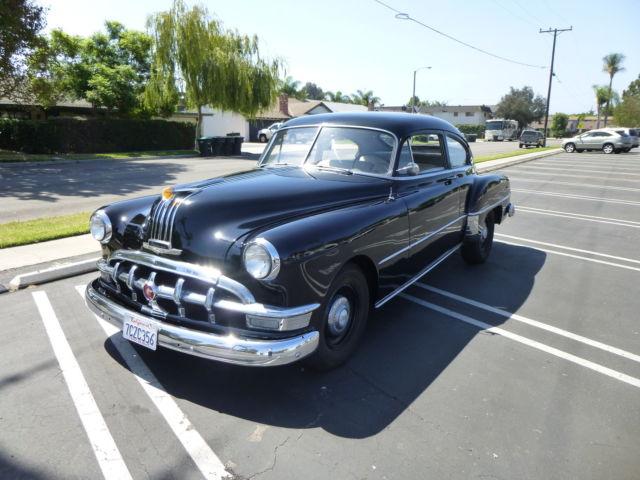 1950 pontiac silver streak 2 door fastback classic