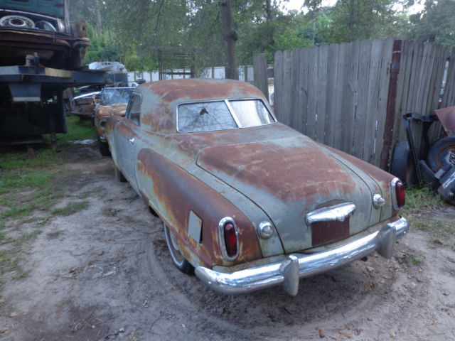 1950 Studebaker 3 Window Bullet Nose Champion Business