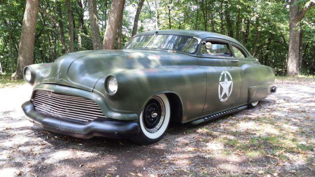 1951 buick special lead sled custom hotrod rat rod cummins for 1951 buick special 4 door