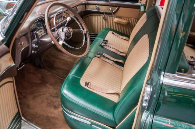 1951 cadillac series 61 sedan exeter green 331 v8 new vinyl interior classic cadillac. Black Bedroom Furniture Sets. Home Design Ideas