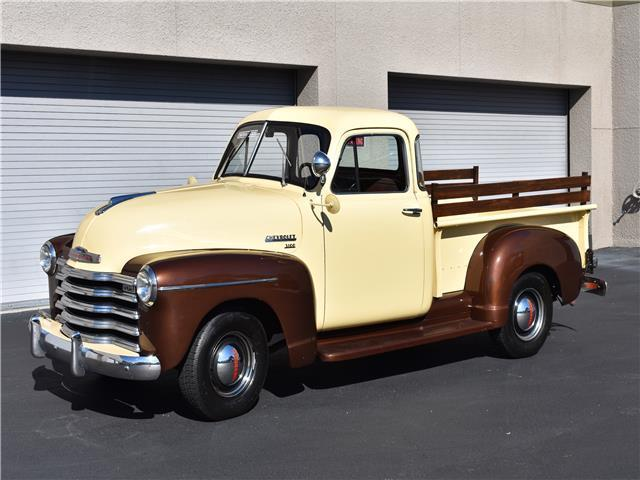 1951 chevrolet 1 2 ton pickup 5 window 0 yellow pickup for 1951 chevy 5 window pickup for sale