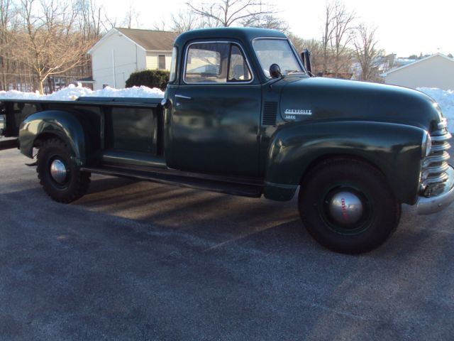 1951 chevrolet 3800 1 ton 9 foot bed 5 window cab for 1951 chevy 5 window pickup for sale