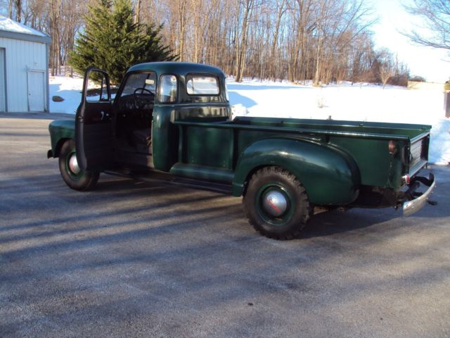 1951 Chevrolet 3800 1 Ton 9 Foot Bed 5 Window Cab