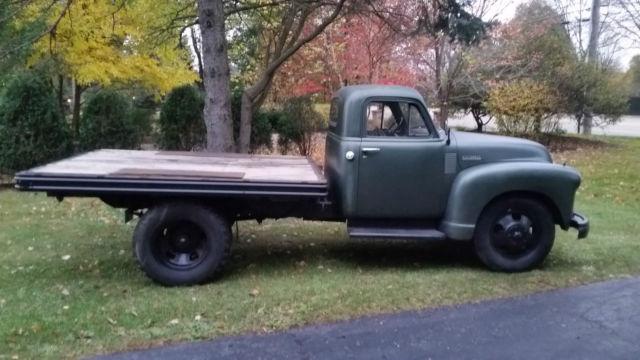 1951 Chevrolet 4100 - Original survivor Pickup truck dump ...