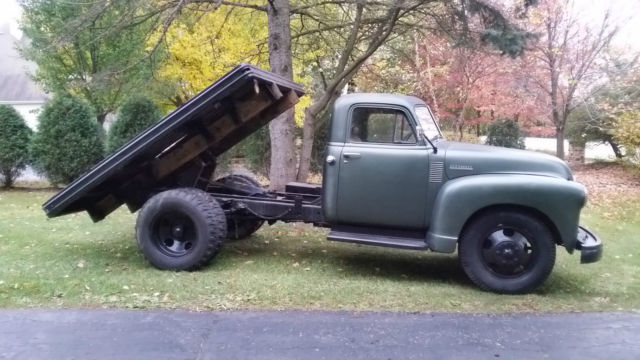 1951 Chevrolet 4100 Original Survivor Pickup Truck Dump