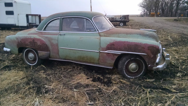 1951 chevrolet coupe deluxe project not running no title for 1951 chevy 2 door coupe